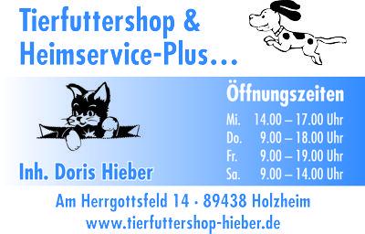 Tierfuttershop & Heimservice-Plus